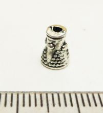 Cone Beadcaps x 10. 6mm x 8mm high
